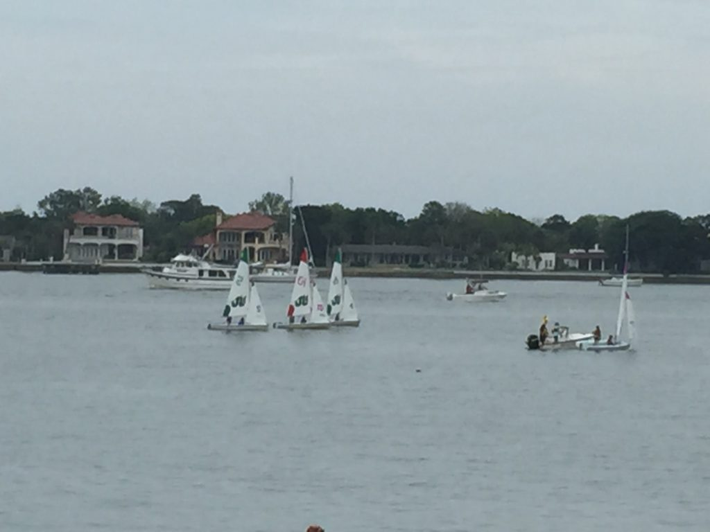 Sailboats Racing in St. Augustine 4-11-15