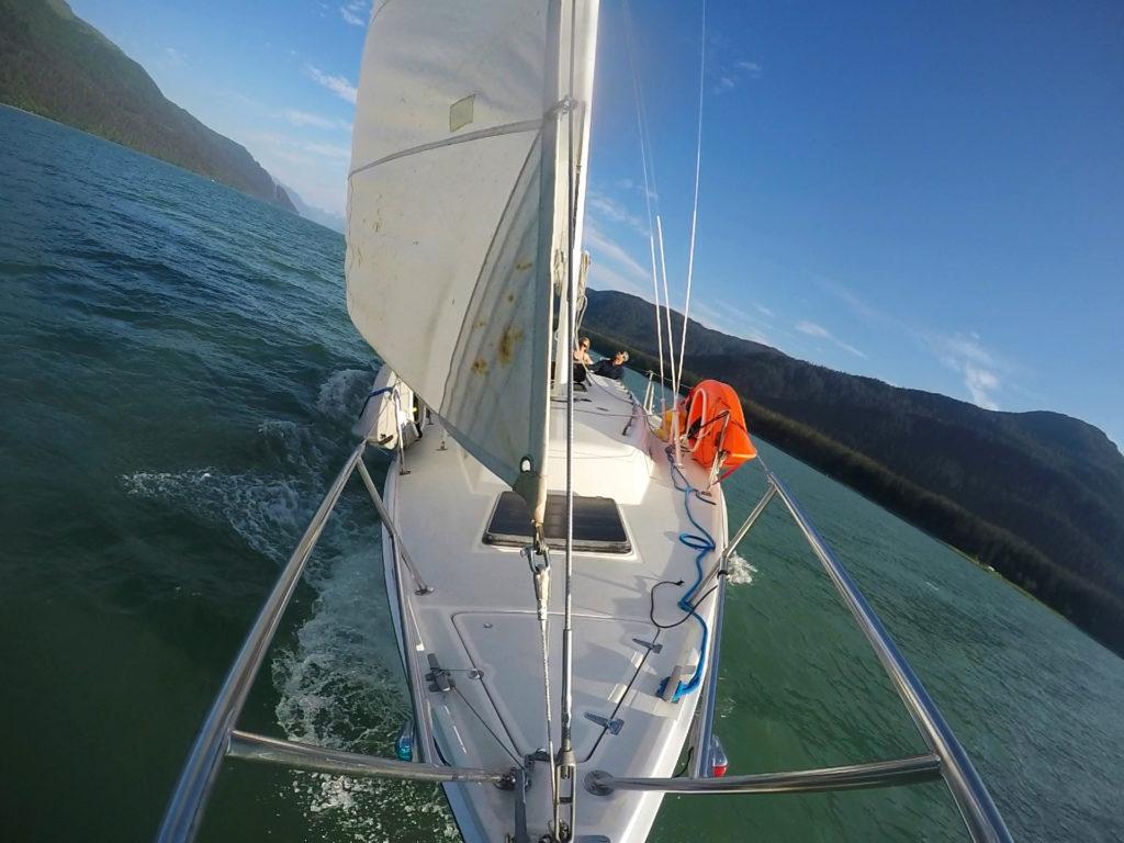 Sailing through the