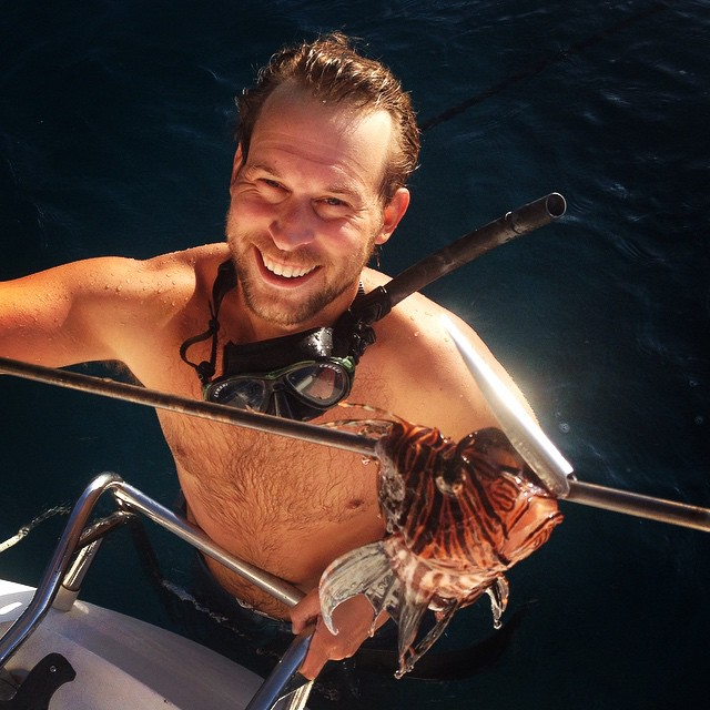 Will, the Lionfish hunter!