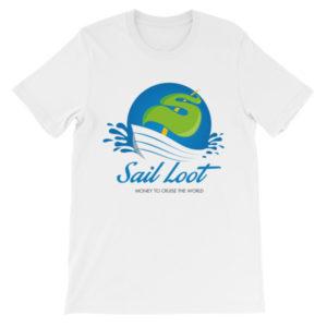 Sail Loot Unisex short sleeve t-shirt